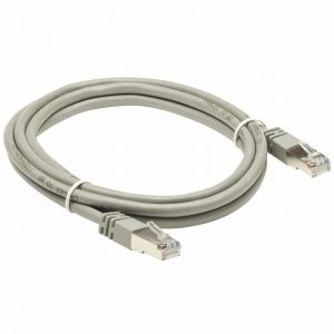 Cat5e RJ45 Patch Ethernet Network Cable Grey 0.2M