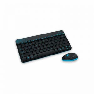סט מיני מקלדת ועכבר אלחוטי Logitech MK240 Black Wireless Mini Keyboard and Mouse