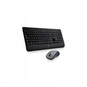 סט מקלדת ועכבר אלחוטי Logitech Wireless Desktop MK520 Keyboard and Mouse Combo