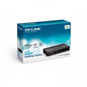 מתג TP-LINK TL-SG1008D 8-Port Gigabit Desktop Switch