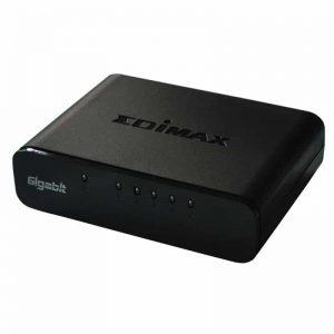 מתג שולחני EDIMAX ES-5500G 5-Port Gigabit Desktop Switch