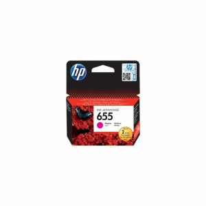 HP 655 Magenta Original Ink Advantage Cartridge