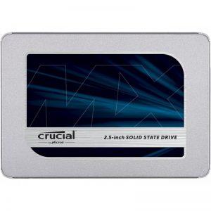 """Crucial MX500 2.5"""" 500GB SATA III 3D NAND Internal Solid State Drive (SSD) CT500MX500SSD1"""
