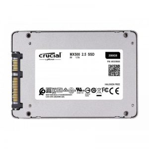 """Crucial MX500 2.5"""" 2 TB SATA III 3D NAND Internal Solid State Drive (SSD) CT2000MX500SSD1"""