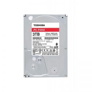 "Toshiba P300 3TB 7200RPM 3.5"" SATA HDD 'Bulk' HDWD130UZSVA"