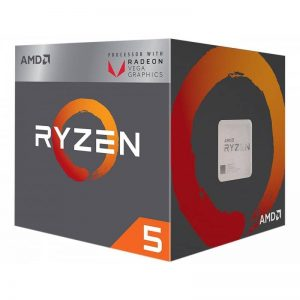 AMD RYZEN 5 2400G Quad-Core 3.9 GHz Turbo Socket AM4 65W YD2400C5FBBOX with Wraith STEALTH Cooling and RX VEGA Graphics