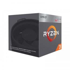 AMD RYZEN 3 2200G Quad-Core 3.7 GHz Turbo Socket AM4 65W YD2200C5FBBOX with Wraith STEALTH Cooling and RX VEGA Graphics