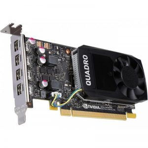 PNY Quadro P1000 VCQP1000-PB 4GB 128-bit GDDR5 PCI Express 3.0 x16 Low Profile Video Cards - Workstation