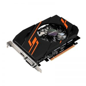 GIGABYTE GeForce GT 1030 DirectX 12 GV-N1030OC-2GI 2GB 64-Bit GDDR5 PCI Express x16 ATX Video Card