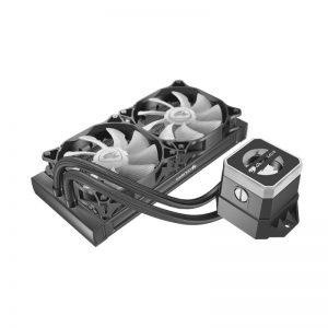 Cougar Helor 240 RGB CPU Aluminum Cooling Kit w/ 2 fans 240mm RL-HLR240-V1
