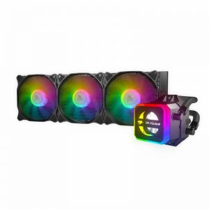 Cougar Helor 360 RGB CPU Aluminum Cooling Kit w/ 3 fans 360mm RL-HLR360-V1