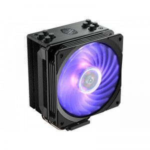 Cooler Master Hyper H412R CPU Air Cooler '4 Heatpipes, Compact Heatsink, Easy Installation