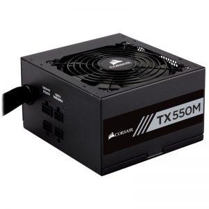 CORSAIR TX-M Series TX550M (CP-9020133-NA) 550W ATX12V v2.4 / EPS 2.92 80 PLUS GOLD Certified Semi-Modular Power Supply
