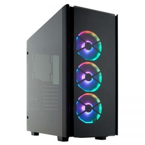 Corsair Carbide Series 275R White Steel, Plastic, Acrylic ATX Mid Tower Gaming Case