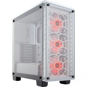 Corsair Tempered Glass Crystal Series 460X RGB white ATX Mid Tower Computer Case